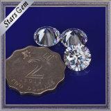 Большой камень Zirconia размера 10mm круглый кубический для ювелирных изделий способа