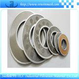 Disque résistant à la chaleur et User-Résistant de filtre d'acier inoxydable, constructeur professionnel