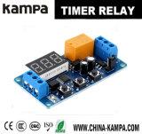 módulo de interruptor do relé do temporizador do atraso de Digitas do indicador de diodo emissor de luz do controle da automatização do elevado desempenho 3V/3.7V/4.5V/5V/6V