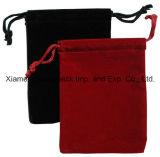 Bolsa de veludo com cordão pequeno feito sob encomenda promocional da forma
