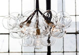 Nordische neue Gaststätte-moderner einfacher kreativer Glasleuchter