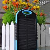 二重USBによって出力される太陽充電器が付いている5000mAh太陽エネルギーバンク