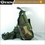 Тактическая регулируемая воинская Nylon кобура пистолета пушки ноги падения
