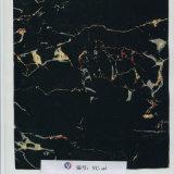 Yc-046 de zwarte HydroFilms van het Ontwerp van de Vorm van de Barst van de Aankomst van de Kleur Nieuwe Marmeren
