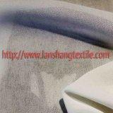 Tela tingida do poliéster da fibra química para o vestuário do revestimento de vestido da mulher