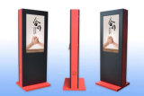Гостиница или авиапорт рекламируя киоск индикации экрана касания LCD
