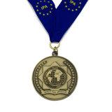 Medaglia d'ottone antica della polizia del premio del ricordo