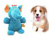 非常に犬のプラシ天のおもちゃ象の形犬のためのピカピカのペットおもちゃ