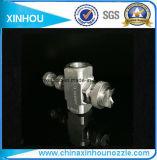 Gicleur de pulvérisation de flux de chaîne de pression d'humidificateur de l'eau d'air large de brouillard