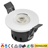 Fuego 5W clasificado Dimmable LED Downlight de la luz BS476 del cuarto de baño IP65
