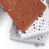 Dekoration-Material verschobenes Aluminiummetalldecken-perforiertes Panel mit Fabrik-Preis
