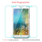 Protetor de vidro material da tela de Japão Asahi para Samsung E5