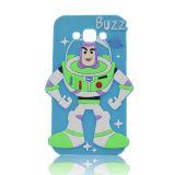 Neues Produkt, arbeiten romantischer Karikatur schützenden Silikon-Kasten für iPhone 5 um