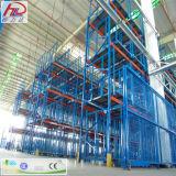 Mecanismo impulsor resistente del almacén en estante de la paleta