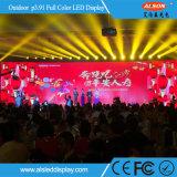Al aire libre Alquiler P3.91 todo color de pantalla LED para la etapa