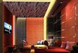 Огнезащитная декоративная панель стены волокна завода с гостиницой