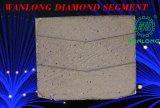 Bloco de diamante para lamas e bloco de granito de corte de lâmina de serra