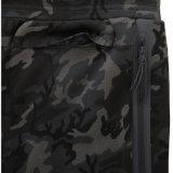 Pantaloni stampati Mens nero di disegno di Camo dei pantaloni di Camo con il polsino elastico
