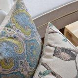 Крышки подушки печати хлопка Linen для зазора кровати подушек хода