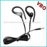 Popular Wired Earhook Style Sport Stereo Earphone with Mic