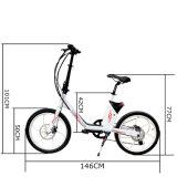 Ezbike schönes kleines E Fahrrad-elektrisches Fahrrad des Entwurfs-mit Motor 250W