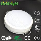 Daylight White IP64 10W LED lâmpada redonda à prova de chuva