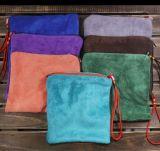 Sac de velours de couleur de sac de bijou de velours pour la mémoire