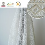 Wedding&Home 직물 E30017를 위한 각종 꽃 레이스 직물, 백색 및 공상