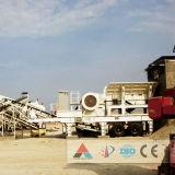 Kalkstein, der Produktion für Bergwerksausrüstung zerquetscht