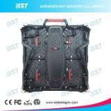Heet verkoop Super Slank Aluminium P3.91 SMD2121 het Zwarte LEIDENE van de Huur LEDs Scherm van de Vertoning voor Overleg toont
