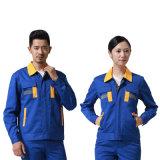 Baumwollfertigen selbstschönheits-Arbeiter-Uniform 100% mit kundenspezifisch an