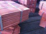 중국 구리 공급자는 구리 음극선 99.99% 구매자를 위한 Lme에 의하여 등록된 최고 질을 분류한다