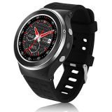 3G WCDMA 1.3GHz Quad Core Android5.1 Smart Watch Phone with GPS WiFi Heart Rate Monitor