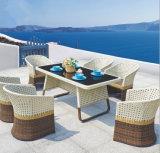 1 Table 8 Meubles de salle à manger pliants en PE pour meubles de salle à manger (Z570)