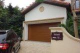 La puerta del obturador del rodillo del color de madera/de aluminio de aluminio rueda para arriba la puerta/la puerta de aluminio de la persiana enrrollable