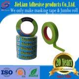 Cinta adhesiva verde da alta temperatura con la muestra libre
