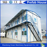 O preço da habitação Prefab do contentor para a venda/pré-fabricou o recipiente das casas/casa móvel
