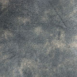 Couro tecido cinco cores de Upholstery do PVC do plutônio para a mobília