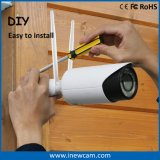 Macchina fotografica senza fili del IP di obbligazione del CCTV di 4MP 4X Varifocal con la scheda di deviazione standard 16g