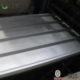 Valla publicitaria de acero temporal galvanizada acanalada de la hoja de acero/cercado