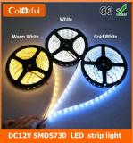 Luz de tira longa do diodo emissor de luz do tempo DC12V SMD5730 do brilho elevado