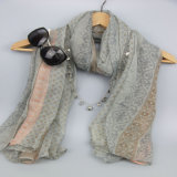 Шарф Boho женщин, шаль печатание, вспомогательное оборудование способа Sacrves, шарф полиэфира