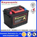 Batería de coche japonesa de la batería de coche del precio bajo de la batería de coche 12V RC 60ah