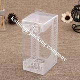 贅沢なデザイン販売のための折るペット明確なプラスチックの箱のパッケージ