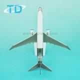 Modèle plat en plastique du modèle B737-800 Csat de ramassage de lignes aériennes