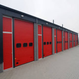 Дверь промышленного пожара Rated секционная надземная