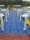 Cubos plásticos plásticos el pontón del dique flotante para el infante de marina