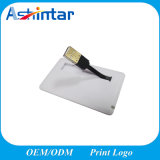 Carte mémoire en plastique USB Disk Disk Waterproof USB Driver