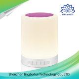 Altoparlante senza fili portatile chiaro del LED mini Bluetooth con l'amo