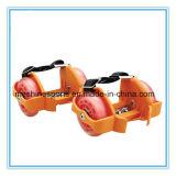 Cer-Zustimmung Zwei-Rad justierbare blinkende Rollen-Rochen-Schuhe mit LED-Rädern